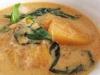 Penang Curry de Poulet au Poivre Vert et à la Courge