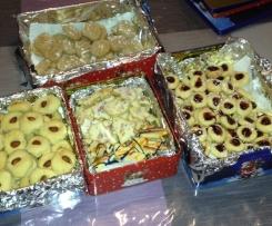 Bredele ou petits gâteaux de noël + 3 variantes