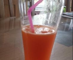 1 verre de jus de carotte