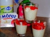 Verrine de riz au lait au St Môret et ses fraises