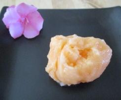 Sorbet melon vanille sucre de canne