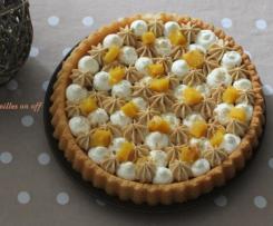 Gâteau chantilly, chantilly spéculoos et mangue façon fantastik