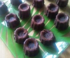 Fondant chocolat - marrons