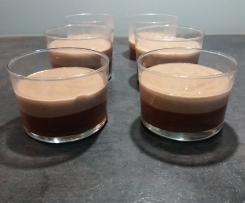 Duo de crème chocolat noir/crème kinder country
