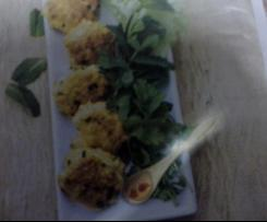 croquettes de poulet aux herbes
