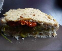 Terrine de cabillaud aux asperges et tomates séchées