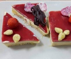 dessert aux fruit parfum de rose