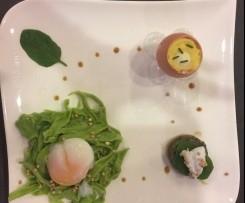 Nid breton, l'œuf dans l'œuf et sa duxelle