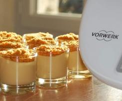 Crème dessert au speculos