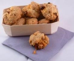 Cookies salés au chorizo parmesan et sésame (Apéro)