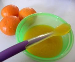 Compote pomme cléméntine pour bébé