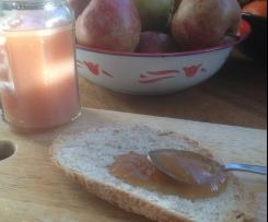 Gelée de pommes du jardin