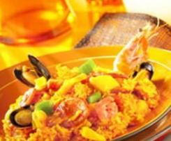 Risotto aux fruits de mer et chorizo