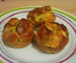 Muffins petits pois comté