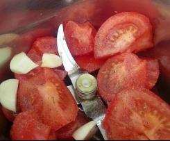 Sauce aux Tomates Crues Rafraichissante