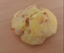 Cookies aux lardons et gruyère