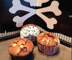 Muffin chocolat coeur Schoko-bons