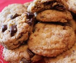 Cookies croustillants et moelleux