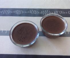 Crème veloutée au chocolat.
