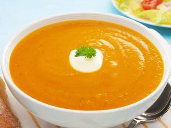 Soupe de new york carottes c leri par soso3719 une recette de fan retrouver dans la - Soupe de brocolis thermomix ...