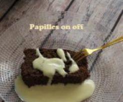 Cake au chocolat, beurre de cacahuète et farine de sarrasin – IG bas