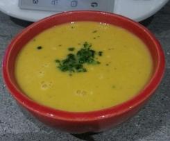 soupe patate douce au lait concentré non sucré