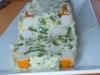 Pain de courgettes aux surimis
