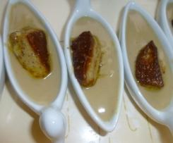 Verrines de fête crème de marron/foie gras