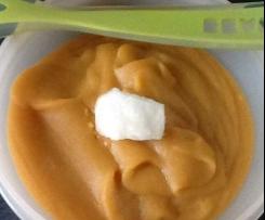 Purée topinambour carottes pommes de terre