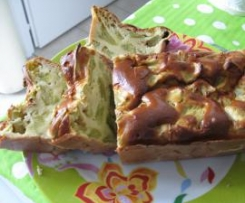 Cake Léger à la Rhubarbe