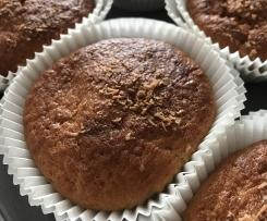 muffins banane chocolat blanc