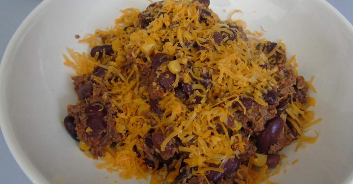 Chili con carne au piment d 39 espelette mimolette par colombe90 une recette de fan retrouver - Recette chili cone carne thermomix ...