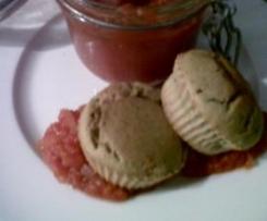 petits cakes d'aubergine au piment d'espelette