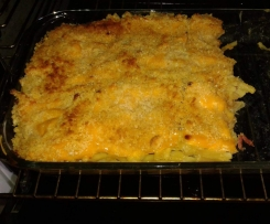 Mac and chesse aux lardons