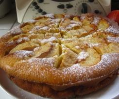 Gâteau double sens pommes-pruneaux, pruneaux-pommes