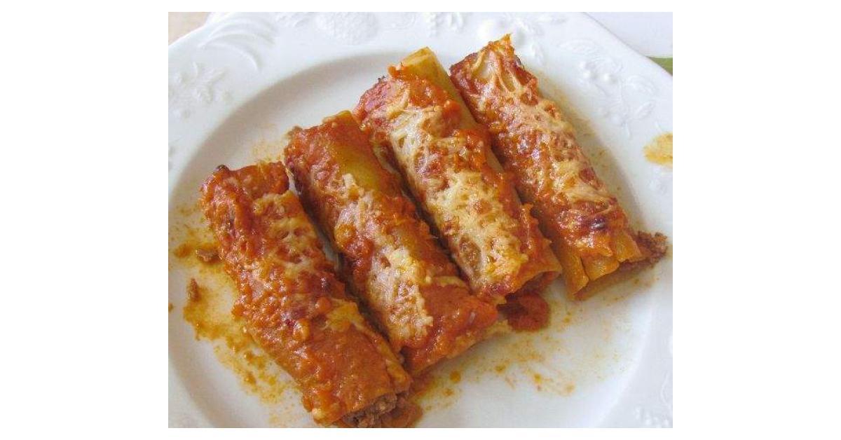 Cannellonis au boeuf et la ricotta par anne legoupil ma - Espace cuisine thermomix ...