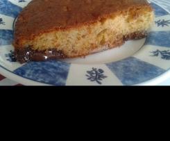 Gâteau choco banane