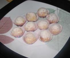 Boules d'amande à l'eau de rose