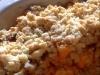 crumble de butternut aux petits lardons