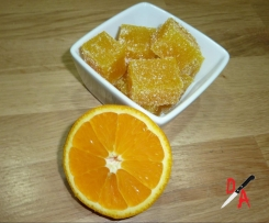 Pate de fruit à l'orange