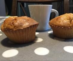 Muffins compote de pommes et frangipane