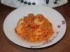 Mijoté de chou aux crevettes