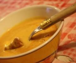 Velouté Orangé Banane/Chorizo