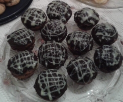 Cupcakes marbrés aux deux chocolats