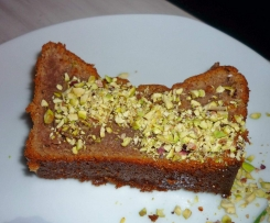 Moelleux à la crème de marron et pistache