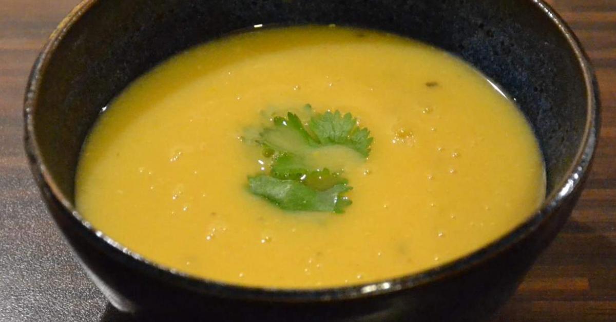 soupe indienne aux lentilles corail par rougail48 une recette de fan retrouver dans la. Black Bedroom Furniture Sets. Home Design Ideas