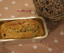 Cake olives et artichauts