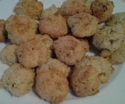 cookies roquefort  noix pour l'apéritif