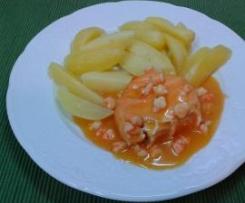 Sauce crevette pour poissons