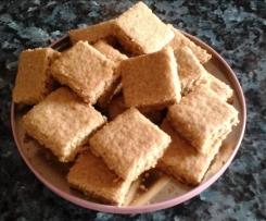 Biscuits sablés à la farine complète et avoine